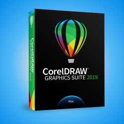 NOWOŚĆ! CorelDRAW Graphics Suite 2019  - MAC - EDUCATION License (5-50)